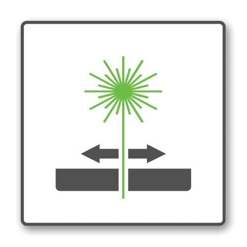 Lasersnijden icoon