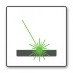 Lasermarkeren icoon